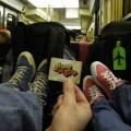 Dans le RER B mon ami