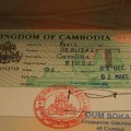 Visa Cambodge CD