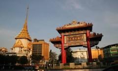 Porte de ChinaTown à Bangkok