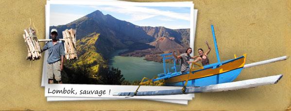 Lombok, sauvage !