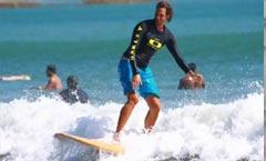 Apprendre à surfer à Kuta Bali