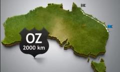 2000 km en 2'20'' !